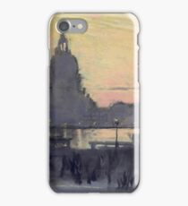 Joseph Pennell - The Gold Moon (Venice View Of Santa Maria Delle Salute From Il Redentore) iPhone Case/Skin