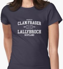 clan fraser Women's Fitted T-Shirt