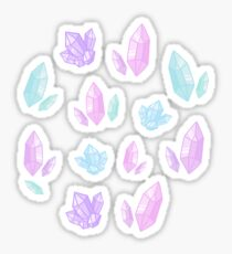 Magische Kristalle Sticker
