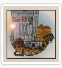 FFVII - The Sandy Badlands - Final Fantasy Postcards Sticker