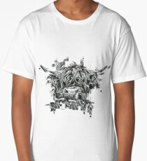 Highland Cow Long T-Shirt