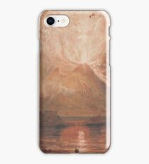 Joseph Mallord William Turner - Vesuvius In Eruption, 1817-20 iPhone Case/Skin