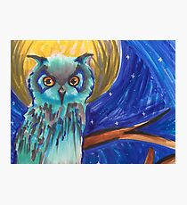Midnight owl Photographic Print