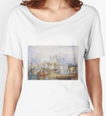 Joseph Mallord William Turner - The Tower Of London Women's Relaxed Fit T-Shirt