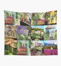 """Collage """"Le Provence"""" Wall Tapestry"""
