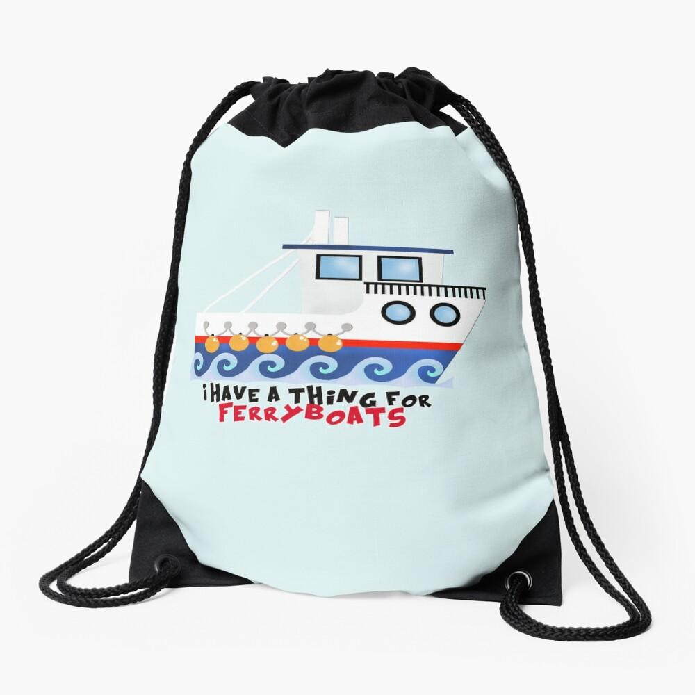 FerryBoats Drawstring Bag