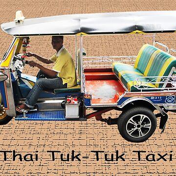 Thai Tuk-Tuk Taxi by DAdeSimone
