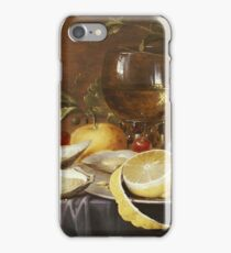 Joris Van Son - A Roemer, A Peeled Half Lemon On A Pewter Plate iPhone Case/Skin