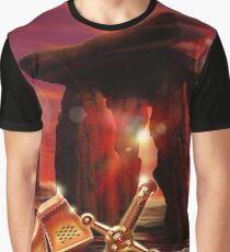 Excalibur Sword Graphic T-Shirt