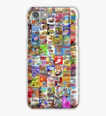 Cereal Boxes iPhone Case/Skin