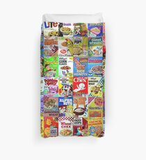 Cereal Boxes Duvet Cover