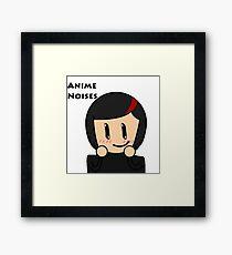 Anime Noises Framed Print