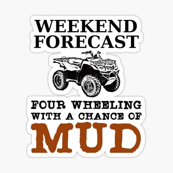 Got Mud Flag Decal Sticker Window Funny Off Road 4x4 4WD Wheeling Mudding
