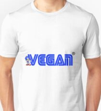 Vegan Sonic the Hedgehog Unisex T-Shirt