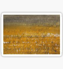 Rain over the Marsh original painting Sticker