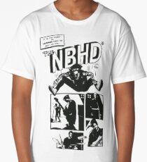 The Neighbourhood Comic Strip Design - FIXED Long T-Shirt