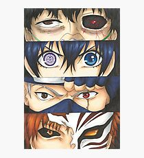 Powerful Eyes Photographic Print