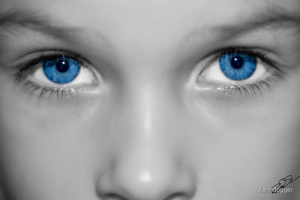 Blue Eyes by farmdogger
