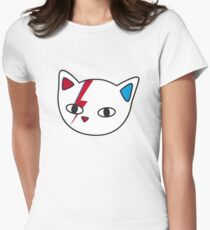 New Meowie Womens Fitted T-Shirt