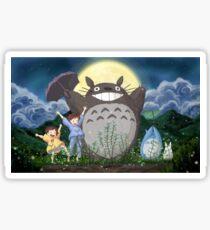 Beautiful Totoro - Digital Art Sticker