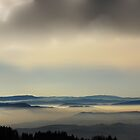 Sunset at Vosges Mountains by Imi Koetz