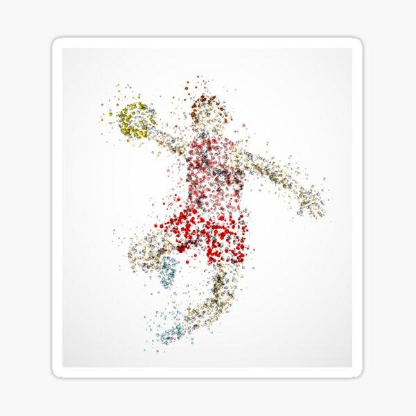 Bubble Handball Sticker