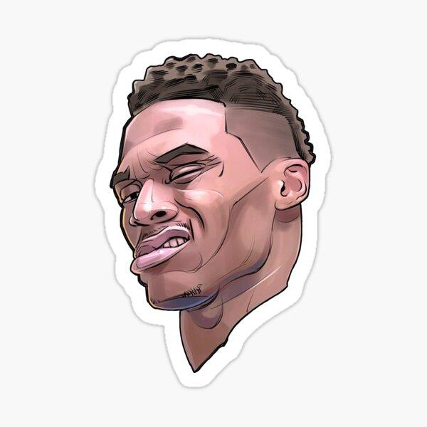 Russell Westbrook Sticker