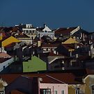 Lisbon Houses - Light and Shade by wiggyofipswich