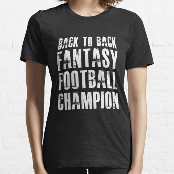 Back To Back Fantasy Football Champion Essential T-Shirt
