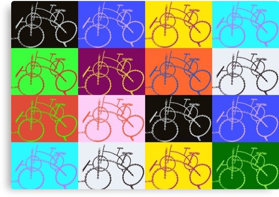 bike chain composition 1 by AHELENE