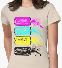 Coca Cola T Shirt Womens Fitted T-Shirt