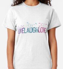 Live Laugh Love Molecules Classic T-Shirt