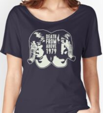 DEATH FROM ABOVE 1979 (WHITE) Women's Relaxed Fit T-Shirt