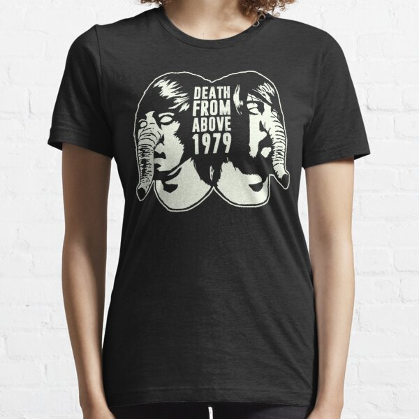 DEATH FROM ABOVE 1979 (WHITE) Essential T-Shirt