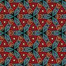 Abstract seamless pattern by yatskhey
