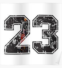 Michael Jordan 23 Poster