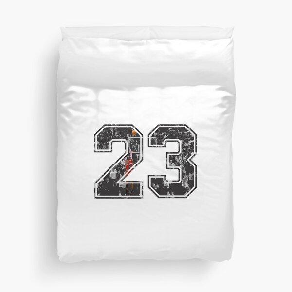 Michael Jordan 23 Duvet Cover