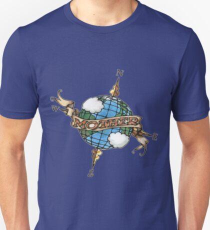 Mother Earth Tattoo Art T-Shirt