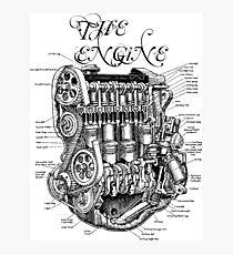 THE ENGINE Photographic Print