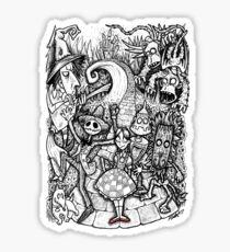 Nightmare in Oz Sticker