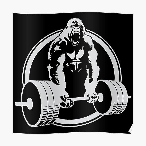 Gorilla Gym Poster