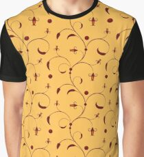 Orient pattern Graphic T-Shirt