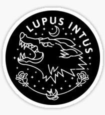 Lupus Intus Sticker