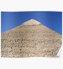 Ancient Monument Khafre Pyramid in Giza Cairo Africa Poster