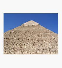Ancient Monument Khafre Pyramid in Giza Cairo Africa Photographic Print