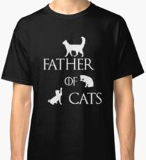 FATHER OF CATS Classic T-Shirt