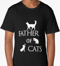 FATHER OF CATS Long T-Shirt