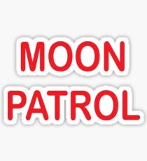 MOON PATROL Sticker