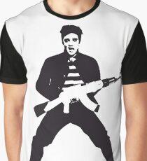 Rockin Elvis Graphic T-Shirt