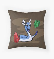 Dragonair's Lair Throw Pillow